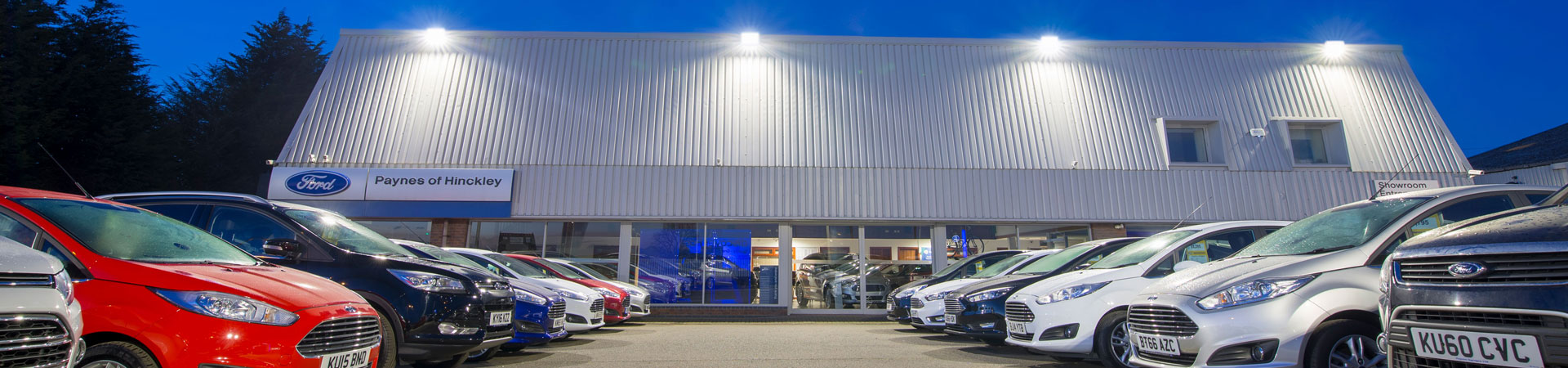 Paynes Ford Garage, Hinckley