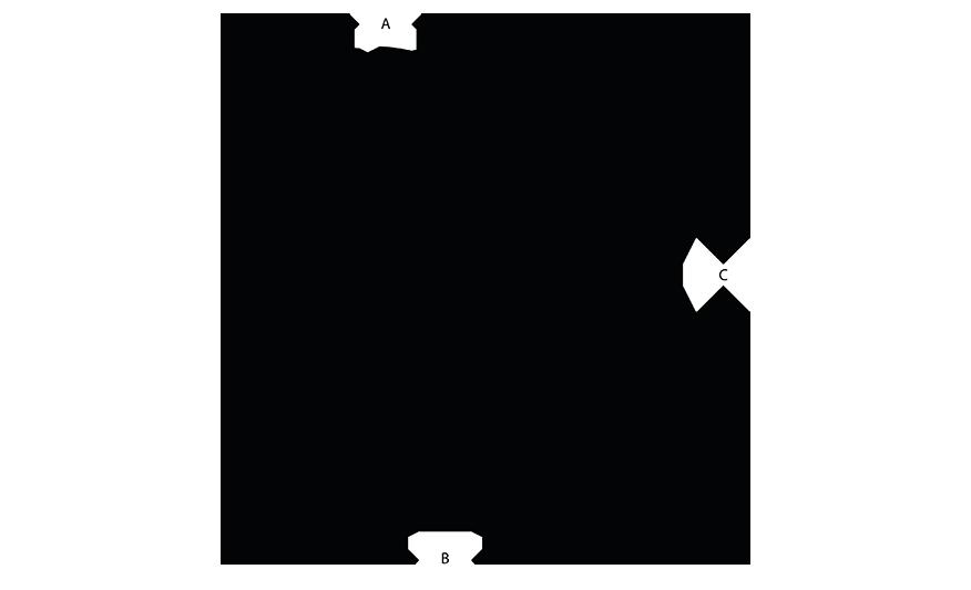 TS-SPOT Track spot line drawing