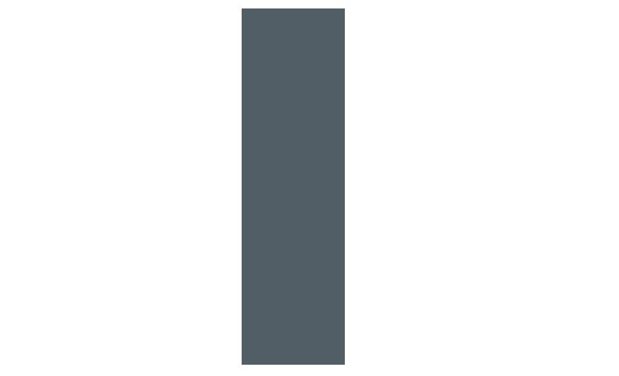 CITY BL Extruded aluminium LED bollard line drawing