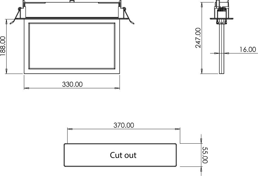 ELITE BL Professional emergency blade line drawing