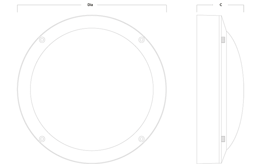 HURRICANE Plain line drawing
