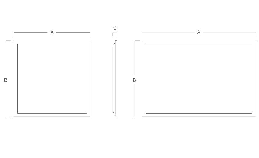 MODLED PLG  line drawing