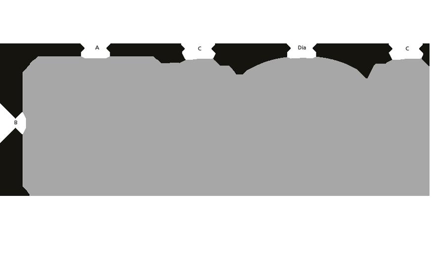 NIMROD SQ black prismatic line drawing