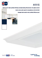 Axis product leaflet cover image