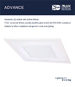 Advance Product Leaflet cover image