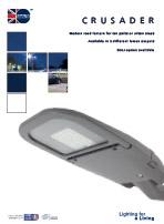 Crusader product leaflet cover image