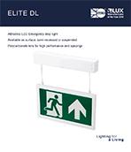 Elite DL Product Leaflet cover image