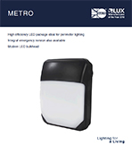 Metro Product Leaflet cover image