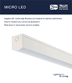 Micro LED Product Leaflet cover image