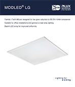 Modled LG Product Leaflet cover image