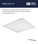 Modled TP Product Leaflet cover image