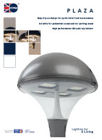 Plaza product leaflet cover image