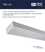 TBX LG Product Leaflet cover image