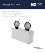 Twinspot Product Leaflet cover image